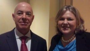 Attorney Powers with USCIS Director Mayorkas