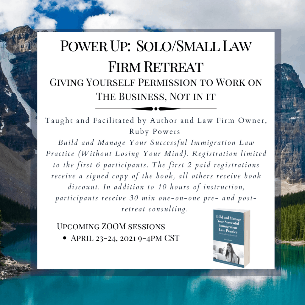 Power Up: Solo/Small Law Firm Retreat